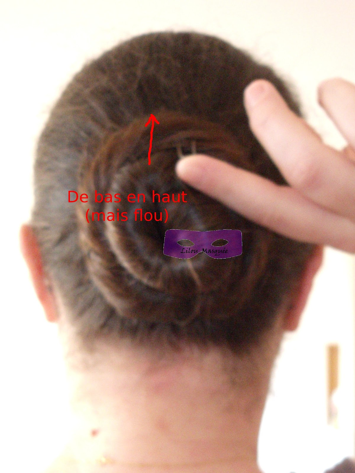 comment attacher es cheveux mi long ondulés