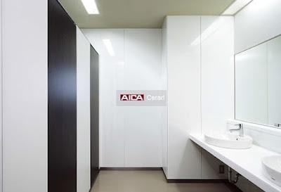 Aica Cerarl untuk dinding partisi kamar mandi