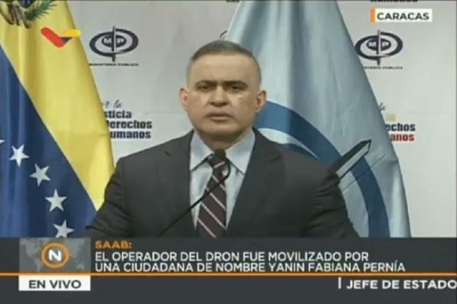 MP vinculó a 19 personas en atentado contra Maduro