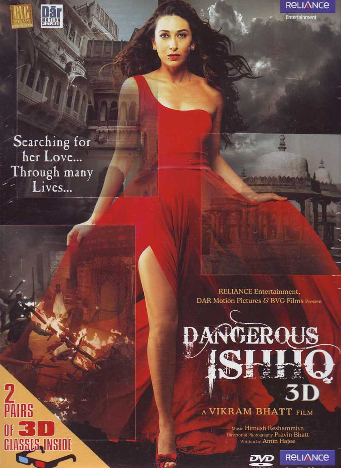 Dangerous Ishhq 2012 Hindi Full Movie 500MB HDRip Download