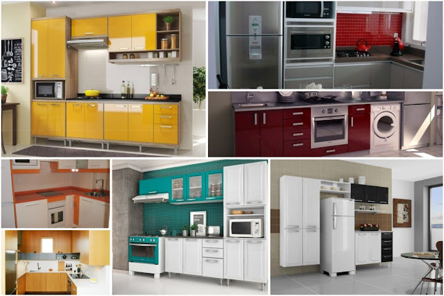 20 Catchy Compact Kitchen Cabinet Pictures And Designs