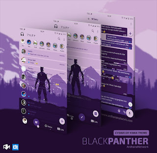 Black Panther Theme For CYOWhatsApp Download By Teguh Ari W