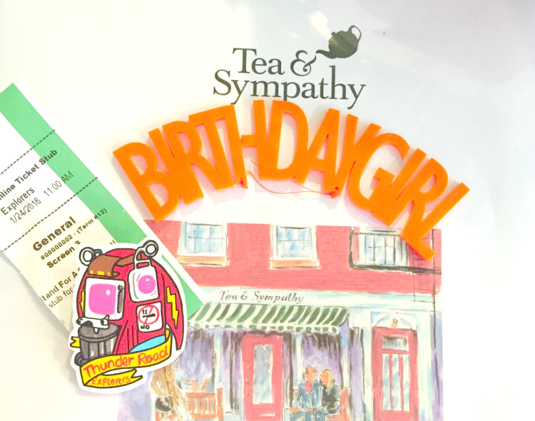 A Vintage Nerd, 40th Birthday Celebration, Tea & Sympathy