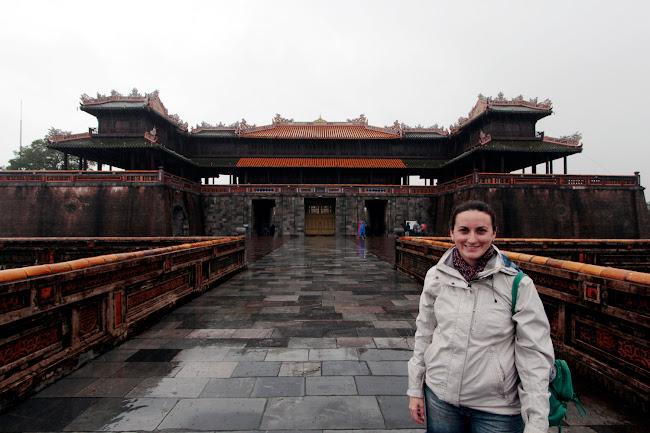 La entrada de la Ciudad Imperial de Hue