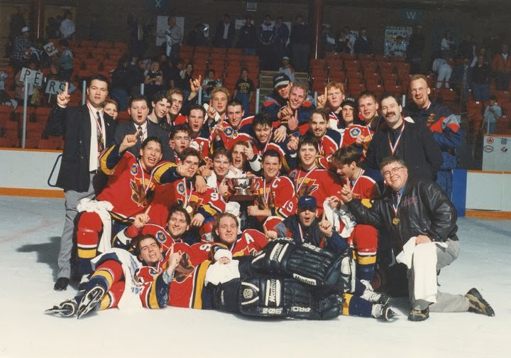 Vernon Vipers 1996 Royal Bank Cup Champions