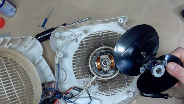 двигатель тепловентилятора