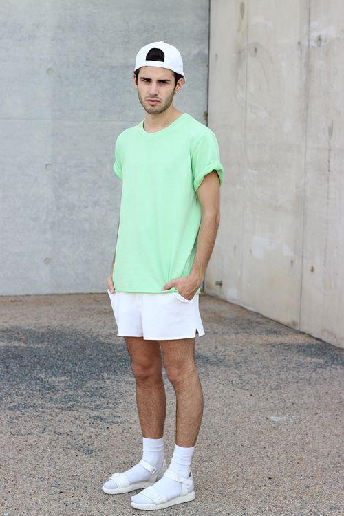 Camiseta Verde Pastel
