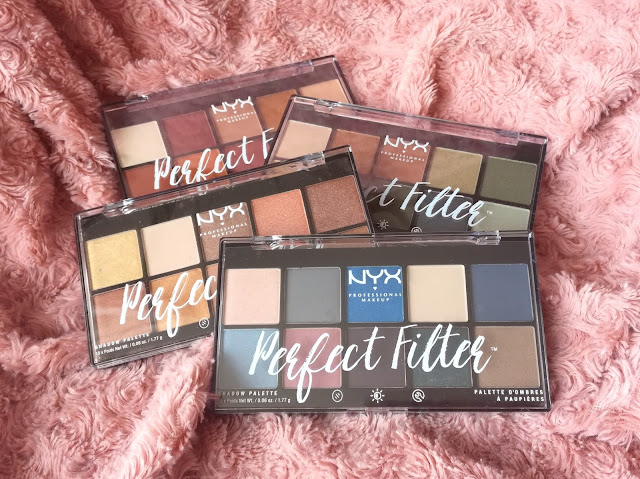 Les palettes Perfect Filter de NYX (+ Dupe Naked Heat Urban Decay)