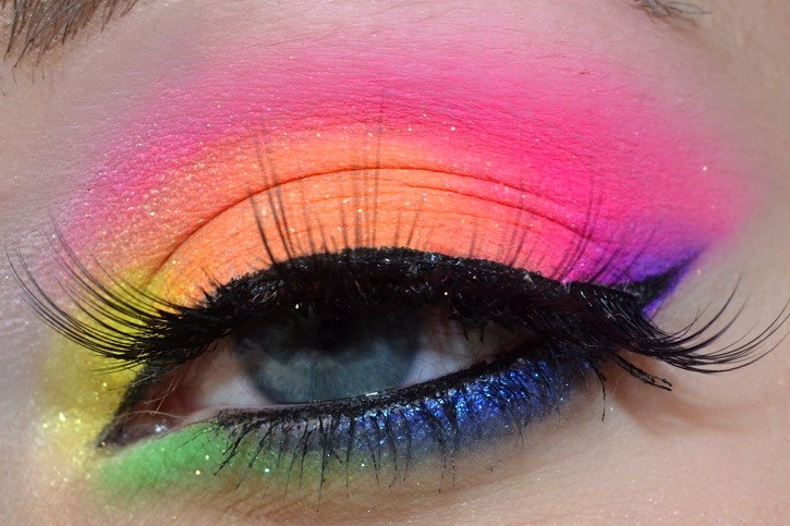 eyedolize makeup 10 absolutely stunning rainbow makeup