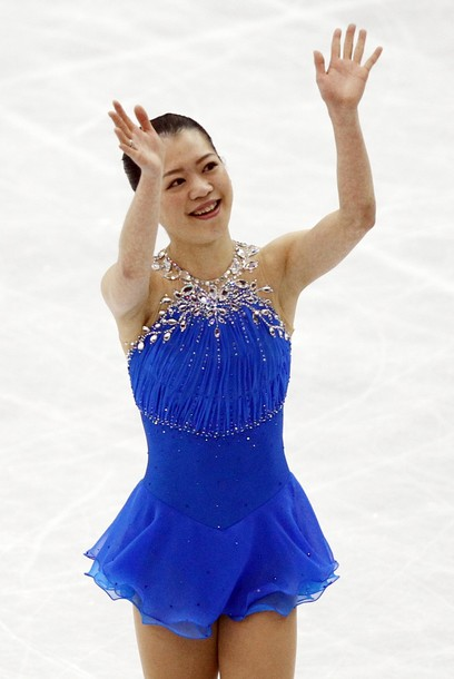 Whicj Fashion Designer Competed In Figure Skating