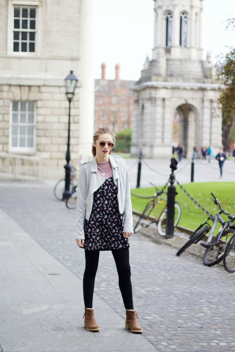 How to style a cami dress in A/W