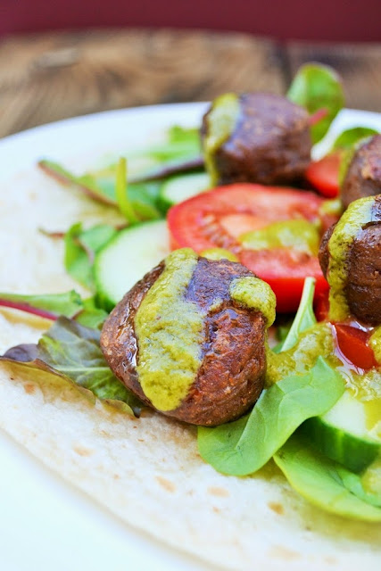 Red Kidney Bean Falafel