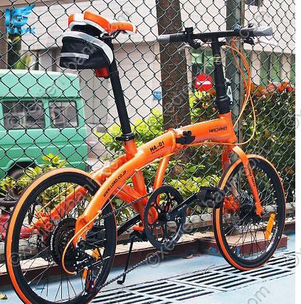Ưu điểm của xe đạp gấp nhật Hachiko Ha 01