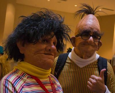Realistische Ernie und Bert Kostüme [Pic]