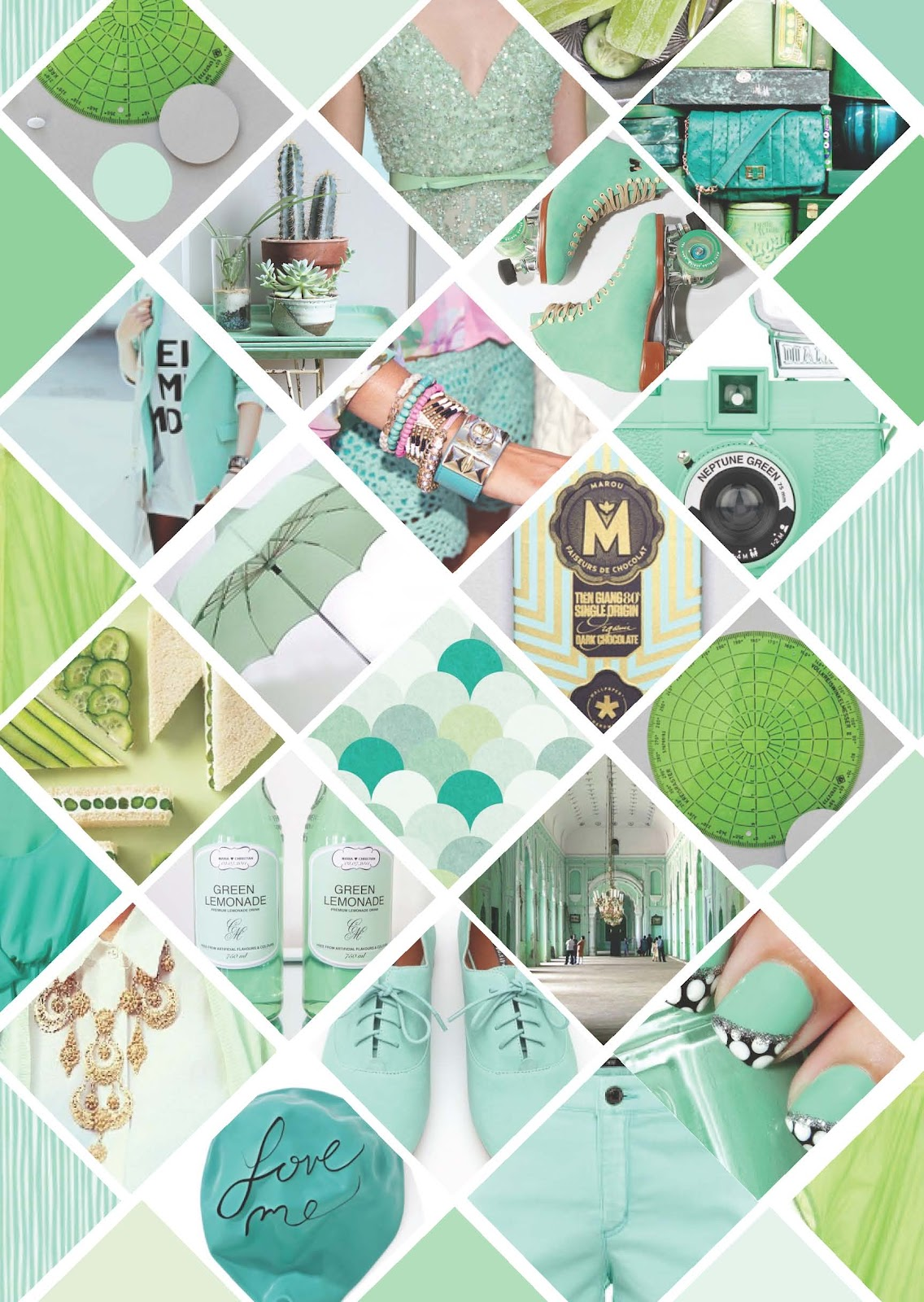1f97efd25ef Escape with Me: MINT GREEN MOODBOARD