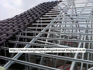 Jasa tukang pasang atap baja ringan murah Tlajung udik Gunung putri bogor