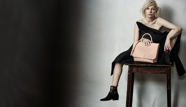Louis Vuitton's Pre-Fall 15 Ad Campaign Starring Michelle Williams