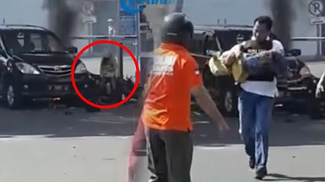Fakta Terbaru Identitas Anak Pelaku Bom Bunuh diri Dari Tulisan di Celana Dalamnya