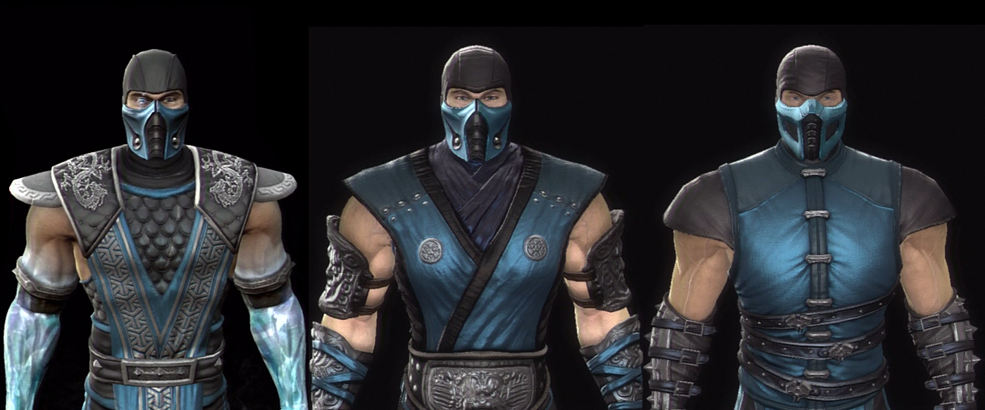 Sub Zero Mortal Kombat Evolution
