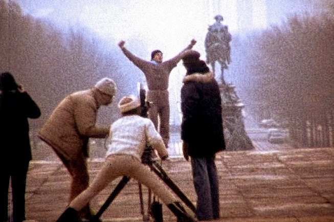 behind-the-scenes photos from Rocky (1976)