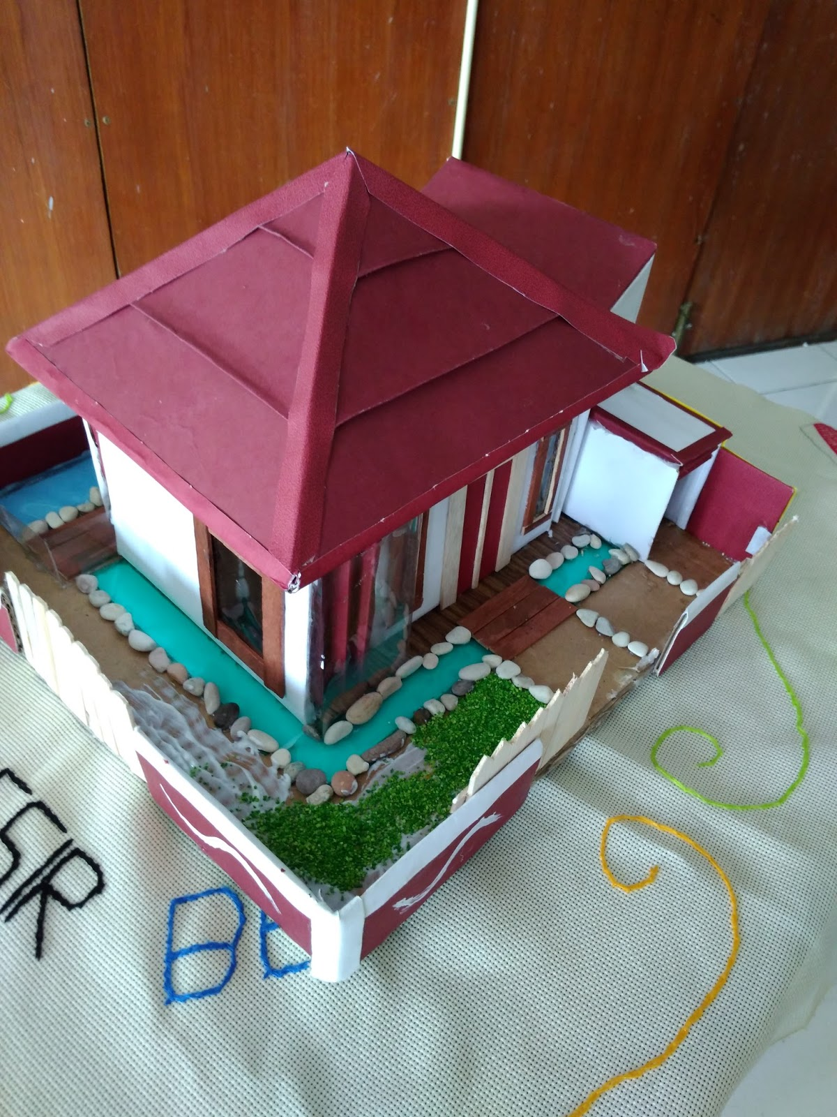 Cara Membuat Diorama Rumah : membuat, diorama, rumah, Maket, Rumah, Kardus, Sciencecentredelft
