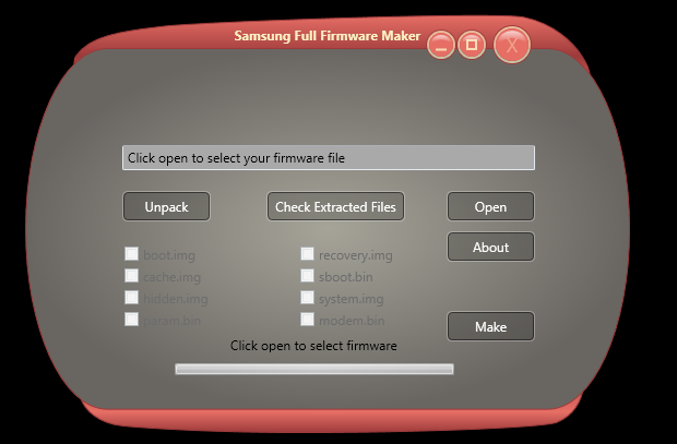 SamSung  Full Repair Firmware Maker Tools V1.0 Free Download