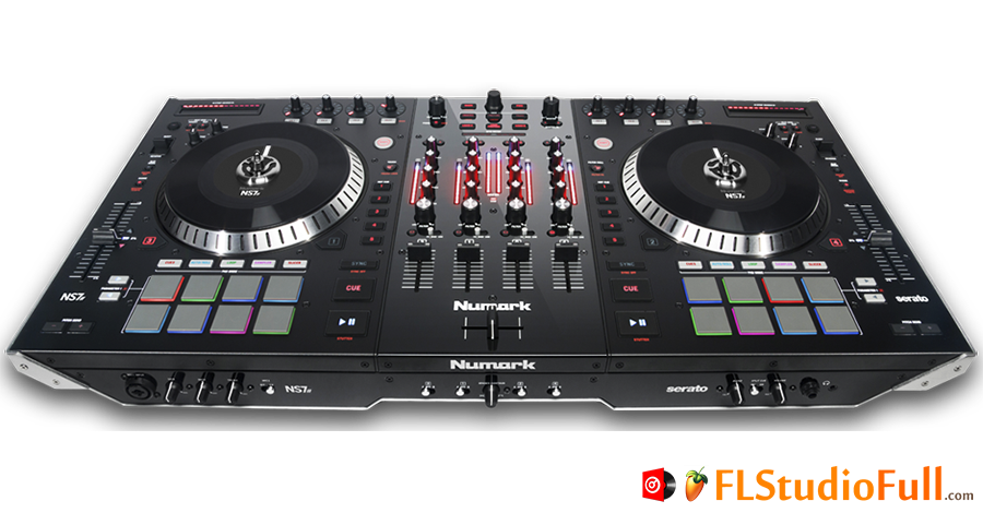 Controlador para Virtual DJ Numark NS7-2