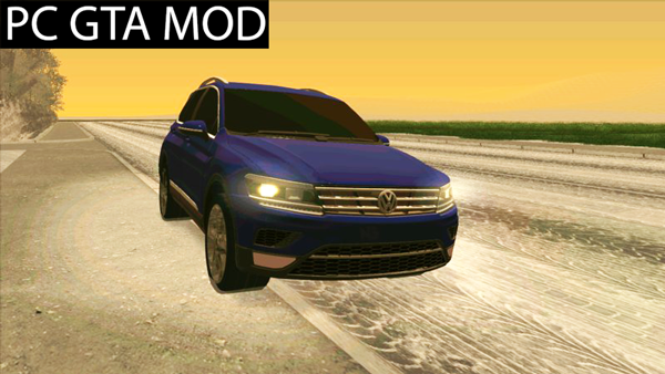 Free Download  Volkswagen Tiguan 2017  Mod for GTA San Andreas.