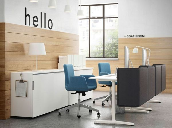 IKEA Commercial OFFICE FURNITURE Filing Cabinets Tables Chairs and