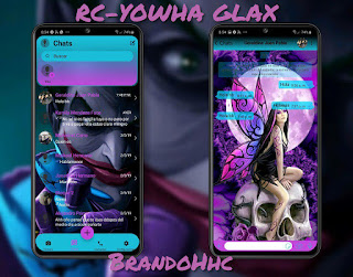 Joker Theme For Fouad WhatsApp & YOWhatsApp