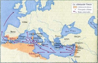 Rutas Fenicias y Dominios