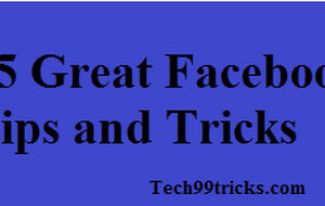 25 Great and Amazing Facebook Tips and Tricks