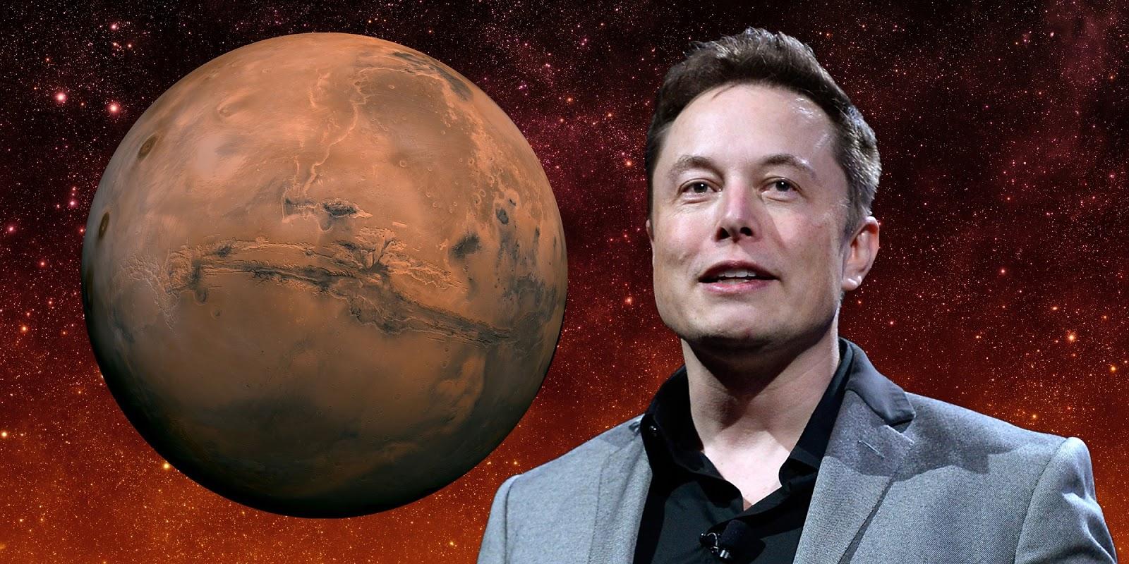 Elon Musk, Mars