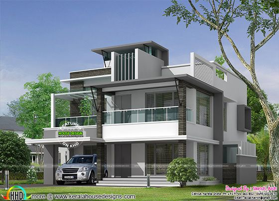 5 bedroom contemporary home architecture