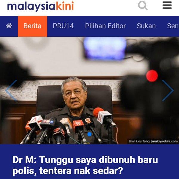 Drama terbaru Mahathir