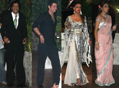 Chunky-Pandey-DJ-Aqeel-Natasha-Poonawala-and-Haseena-Jethmalani-at-Saif-and-Kareena-Wedding-Reception
