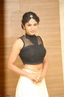 Roshni Prakash in a Sleeveless Crop Top and Long Cream Ethnic Skirt 099.JPG