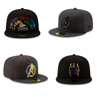 Avengers: Endgame 59FIFTY Hat Collection by New Era Cap x Marvel