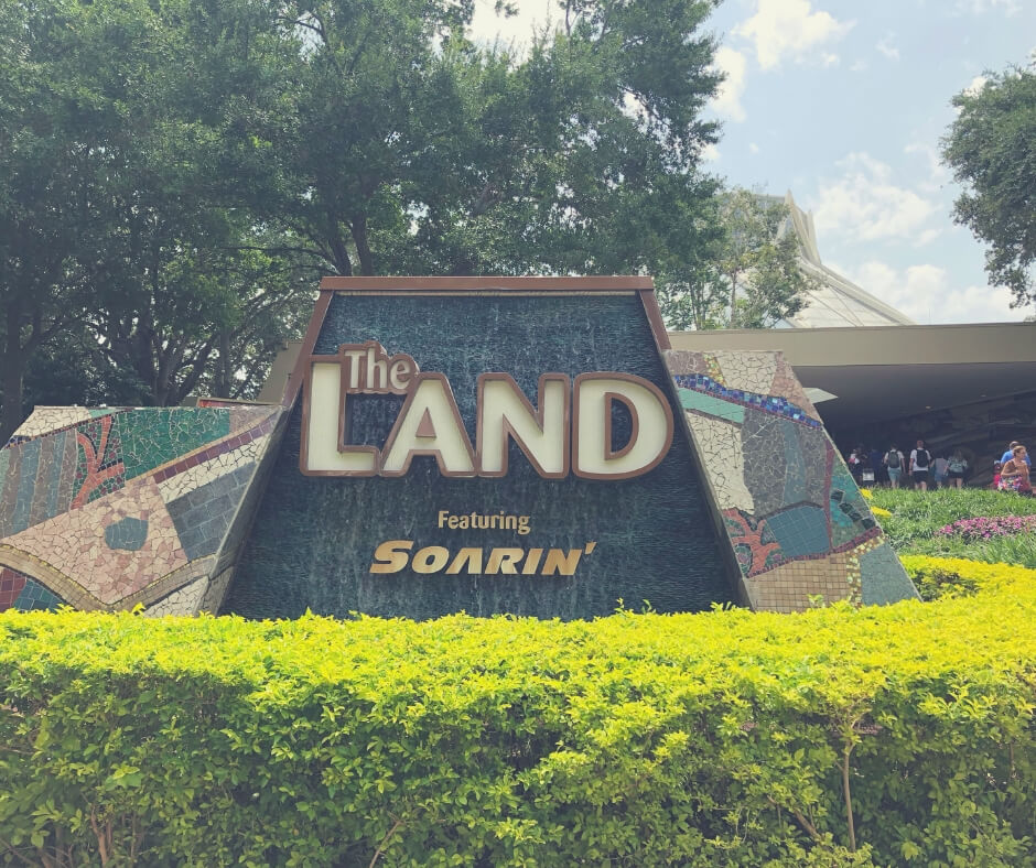 7 Things To Do In Epcot When It Rains | Head for The Land where you can learn about living with the land, planting and growing food.