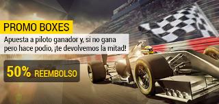 bwin promocion GP de Hungría de F1 30 julio