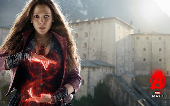 Scarlet Witch Avenger Age of Ultron Wallpaper