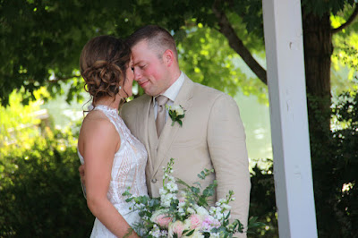 Zach and Whitney Bates vow renewal