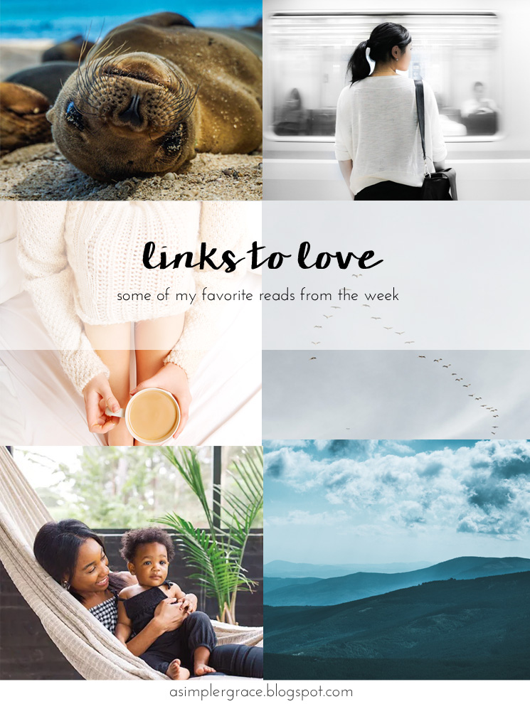 Sharing my favorite reads from the week.  #linkstolove #fridayfavorites