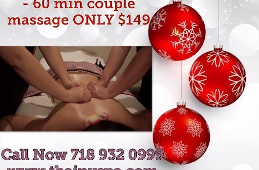 Spa Treatments make the perfect Holiday Gift for your loved ones@Thai New York Spa 718 932 0999