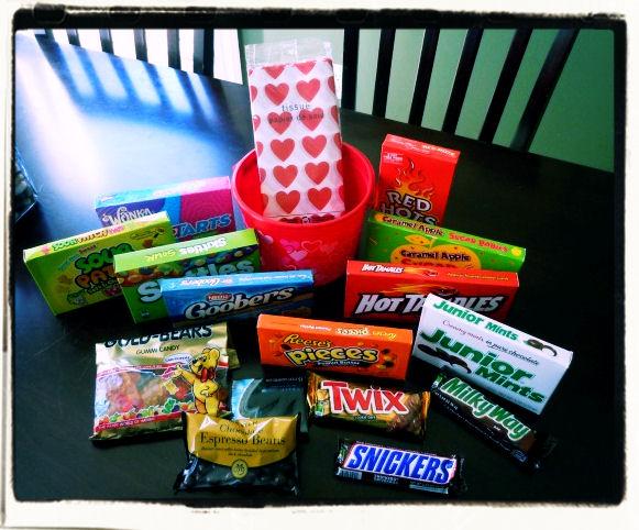 Creating A Valentine S Day Candy Gram Basket