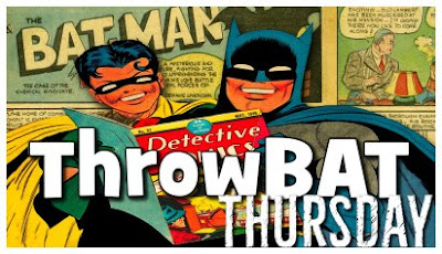 Throwback Thursday Batman ThrowBat Thursday