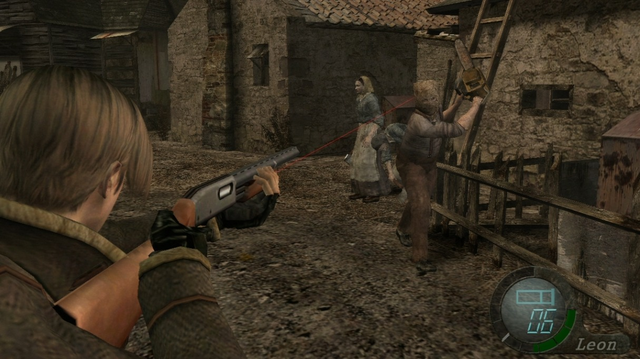 medium 1 screenshot - Resident Evil 4 (NTSC - PS2)