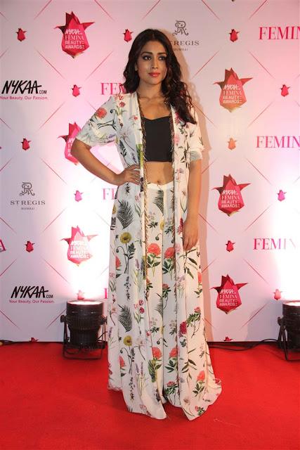Shriya saran at Femina & Nykaa Beauty Awards 2017