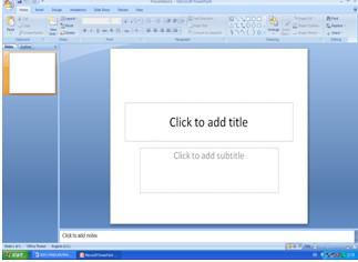 Cara Menggunakan Microsoft Power Point 2007 Bagian I - Harianja Uniks