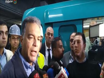مترو الأنفاق, مصر الجديدة, هشام عرفات, وزارة النقل,